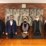 Visita institucional del delegat del Govern de la Generalitat, Juli Fernàndez a Canet de Mar