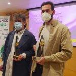 Marc Cerrudo guanya el premi Roc Boronat de l'ONCE Catalunya amb la seva primera novel•la