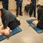La Policia Local de Teià segueix un curs de reanimació cardíaca i suport vital