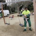 Mataró reobre els parcs infantils vuit mesos després d'haver-los tancat per la pandèmia