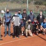 Una cinquantena de tennistes participen al torneig Gregoriano celebrat al Club Tennis Canet