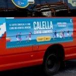 Calella engega una campanya de publicitat del centre comercial als busos que van fins a l'hospital de Blanes