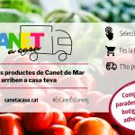 'Canet a Casa´ et porta el producte fresc i de proximitat dels comerços del municipi directament a casa