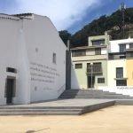Inauguració de la plaça de la República Catalana a Arenys de Munt