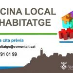 L'Oficina Local d'Habitatge de Sant Vicenç de Montalt reobre amb cita prèvia