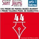 Dissabte 29 de maig es lliura a Premià de Dalt el 44è Premi de Poesia Marià Manent