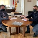 Els alcaldes de Sant Vicenç de Montalt i Caldes d'Estrac signen el nou conveni en matèria de zones blaves
