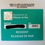 A partir del 15 de maig, inici de la zona verda de Vilassar de Mar, per a veïns i assimilats