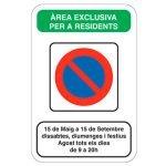 Més facilitats per als veïns de Cabrera de Mar, per a aparcar en la temporada de bany