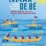 Jornada d'activitats nàutiques La mar de bé, a Premià de Mar