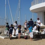 Voluntaris del CN El Balís de Llavaneres recullen 120kg de residus durant la jornada de neteja d'espais naturals