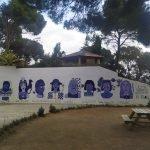 Les dones protagonitzen el nou mural de l'Escola Sagrada Família de Caldes d'Estrac