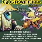Diumenge 13 de juny torna la Mostra de Graffiti a Premià de Mar