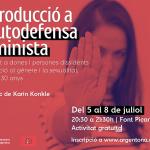 Taller d'introducció a l'autodefensa feminista a Argentona