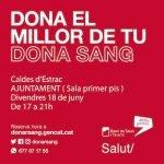 En marxa una nova jornada de Donació de Sang a Caldes d'Estrac