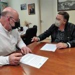 Llavaneres i Sant Vicenç de Montalt renoven l'acord de col•laboració en matèria de zones blaves