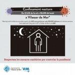 El confinament nocturn ha entat en vigor a Vilassar de Mar aquesta matinada