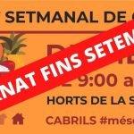 El mercat de venda no sedentària de Cabrils queda ajornat fins al setembre