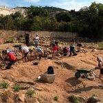 Nous treballs d'excavació a Can Rodon de l'Hort, Cabrera de Mar