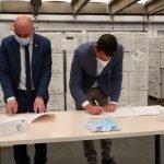 La Diputació de Barcelona distribuirà als municipis una nova partida de mascaretes procedents de la Delegació del Govern