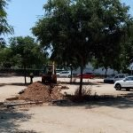 S'inicien les obres de millora a l'aparcament del Sot del Camp de Sant Vicenç de Montalt