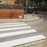 Comença a Vilassar de Mar el repintat de passos de vianants, per fer-los més segurs