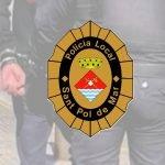 La Policia Local de Sant Pol realitza cinc detencions amb col•laboració ciutadana