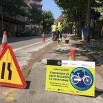 L'Ajuntament inicia les obres de l'anella ciclista de Mataró que ampliarà i connectarà els carrils bici de la ciutat