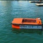 El port de Badalona inicia un nou sistema de recollida de residus amb drons aquàtics