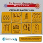 El repunt de casos de coronavirus es multiplica a Vilassar de Mar