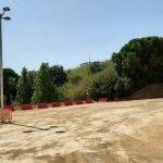 d'aparcament gratuït per a cotxes i motos al carrer Joan Coromines, Calella