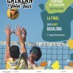 Badalona acull aquest cap de setmana la final del Campionat de Catalunya de Vòlei Platja Vichy Catalan Vòlei Tour