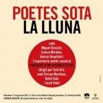 """""""Poetes sota la lluna"""" divendres 27 d'agost a Can Vallerià"""