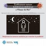 Vilassar de Mar, entre els municipis on es prorroga el confinament nocturn fins al 20 d'agost