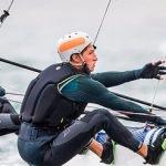 Florian Trittel aconsegueix la sisena posició a Nacra 17 en el seu debut olímpic a Tòquio 2020