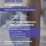 Acció de vacunació sense cita prèvia dirigida a la població de Vilassar de Mar