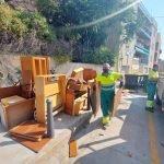 L'Ajuntament de Caldes d'Estrac segueix treballant per a erradicar i prevenir l'abocament incontrolat
