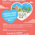 Aquest diumenge, N-II Pedalada popular a Vilassar de Mar, i presentació del Pla Director de la Bicicleta amb motiu de la Setmana Europea de la Mobilitat