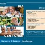 Badalona commemora divendres 1 d'octubre el Dia Internacional de la Gent Gran