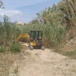 L'Ajuntament de Mataró neteja la riera de Sant Simó per minimitzar els riscos davant de possibles aiguats