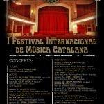 """I Festival Internacional de Música Catalana """"Lluís Millet"""" al Masnou"""