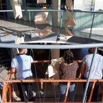 L'escultura 'Origami' del Badalona Centre Internacional de Negocis es trasllada temporalment al Museu Guggenheim Bilbao