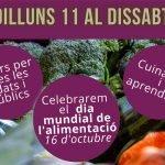Sant Vicenç de Montalt celebra el Dia Mundial de l'Alimentació de l'11 al 16 d'octubre